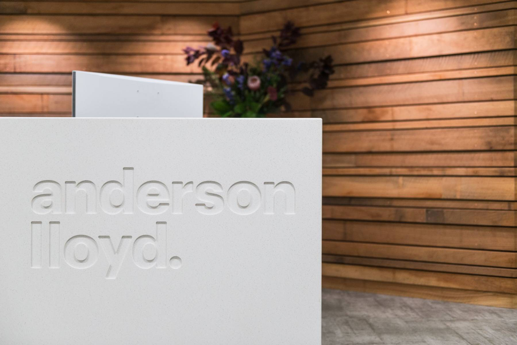 Anderson Lloyd reception