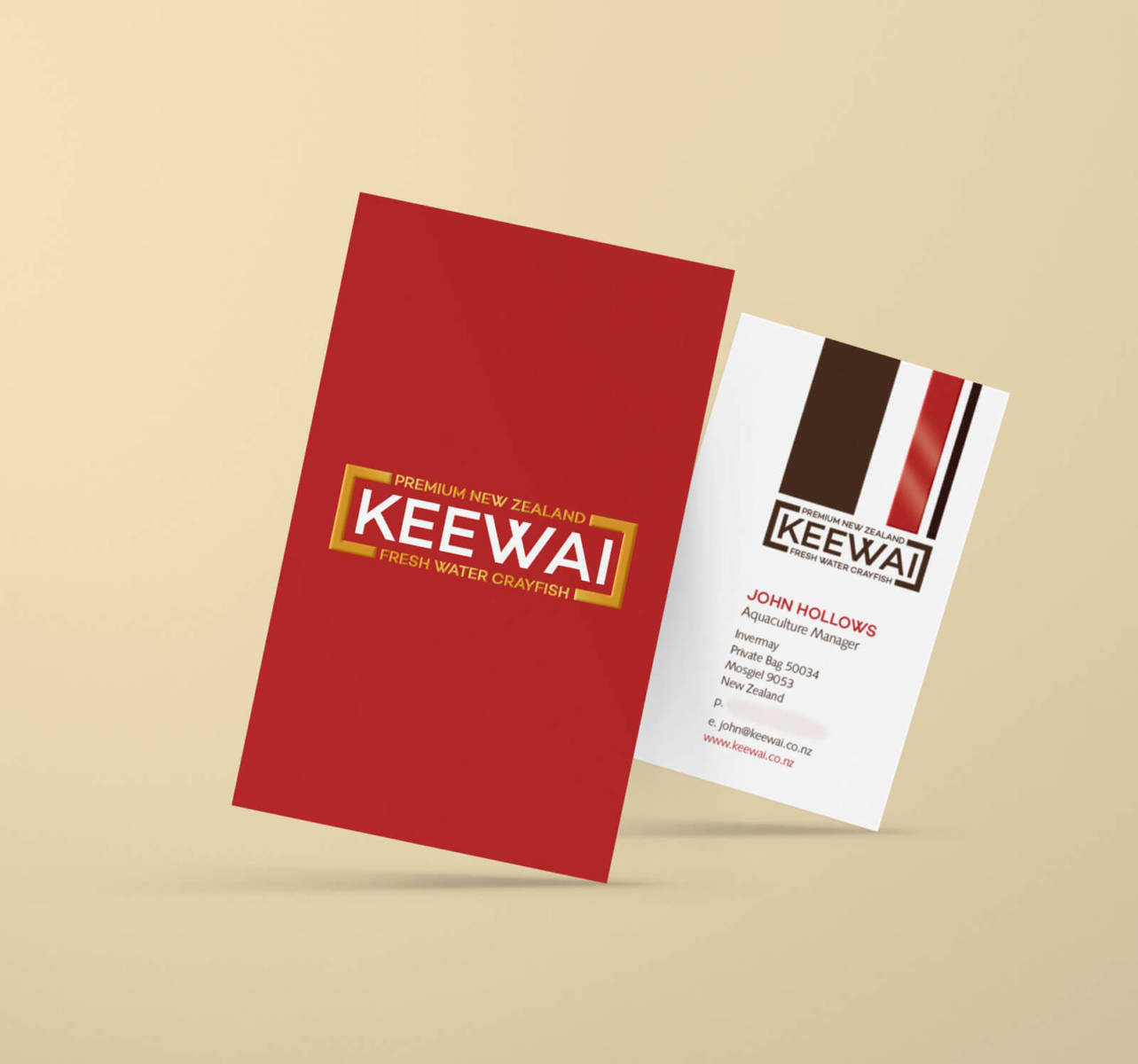Keewai business cards