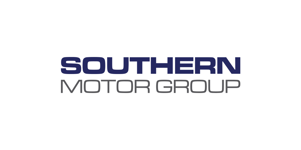 Southern Motor Group white logo